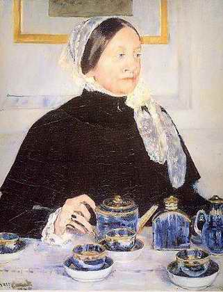 Lady at the Tea Table - Mary Cassatt