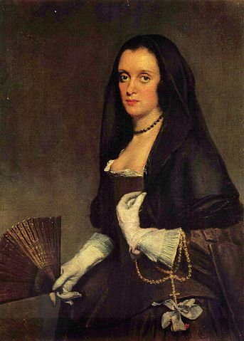 Lady with a Fan - Diego Velazquez