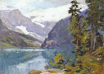 Lake Louise, British Columbia - Edward Henry Potthast