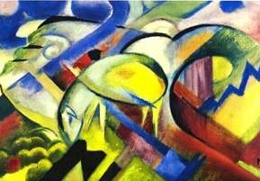 Franz Marc Painting Reproductions For Sale Canvas Replicas