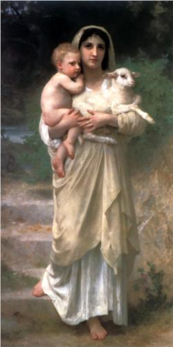 Lambs - William Adolphe Bouguereau