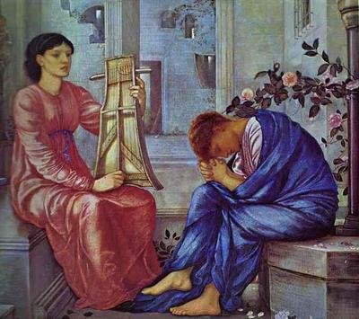 Lament - Edward Coley Burne Jones