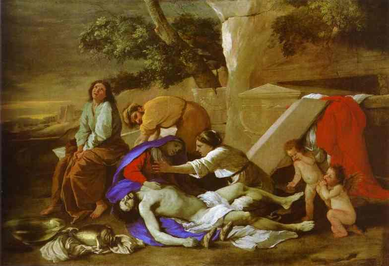 Lamentation over Christ - Nicolas Poussin
