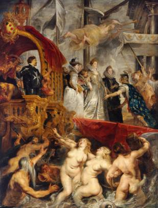 Landing at Marseilles - Peter Paul Rubens