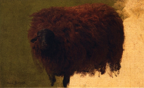 Large Wooly Sheep (Wether) - Rosa Bonheur