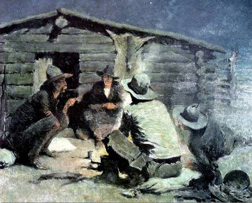 Last Painting - Frederic Remington