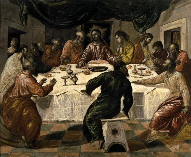 Last Supper - El Greco
