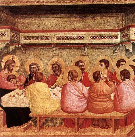 Last Supper - Giotto di Bondone