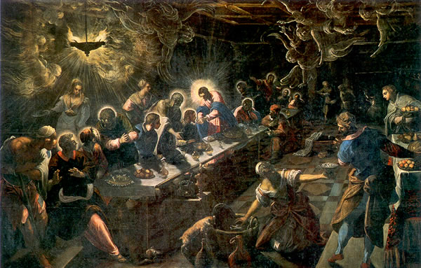 Last Supper - Tintoretto