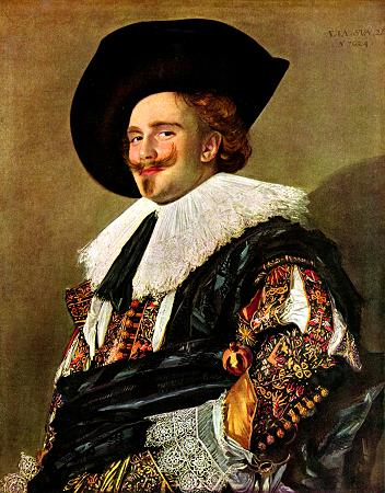 Laughing Cavalier - Frans Hals