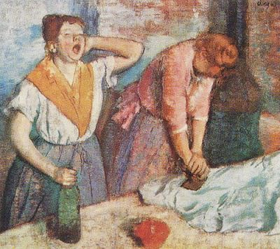 Laundry Maids - Edgar Degas
