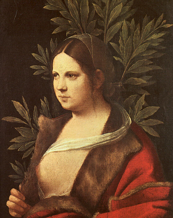 Laura (Portrait of a Young Bride) - Giorgione (Giorgio Barbarelli da Castelfranco)