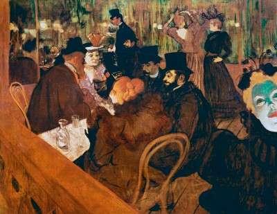 Le Moulin Rouge - Henri de Toulouse Lautrec – Oil Painting ...