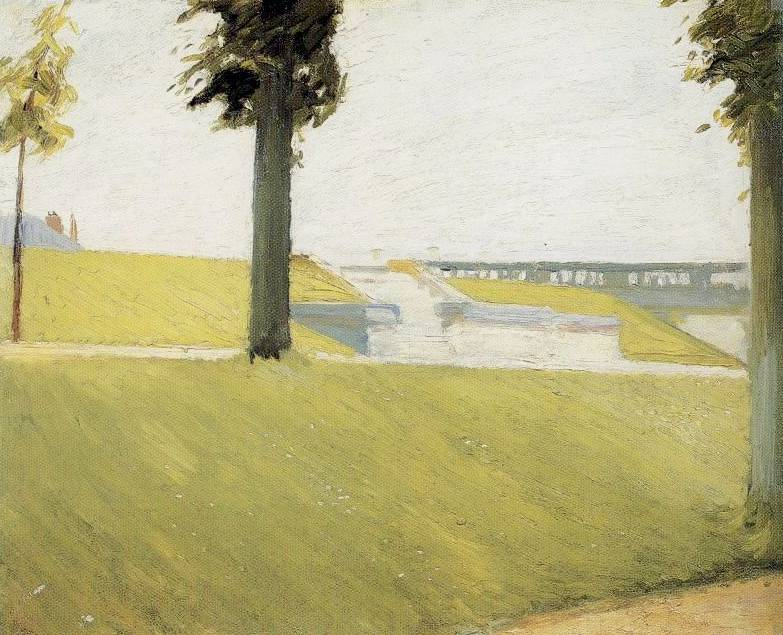 Le Parc de Saint Cloud - Edward Hopper