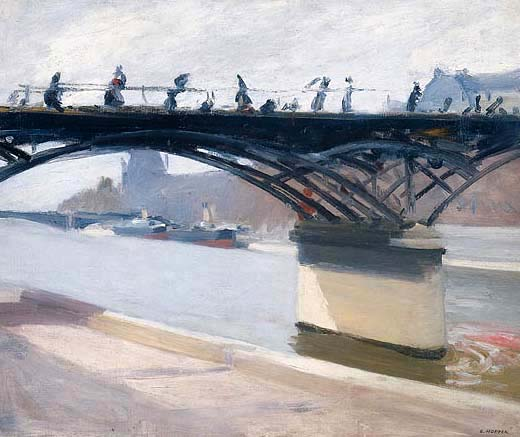 Le Pont des Arts - Edward Hopper