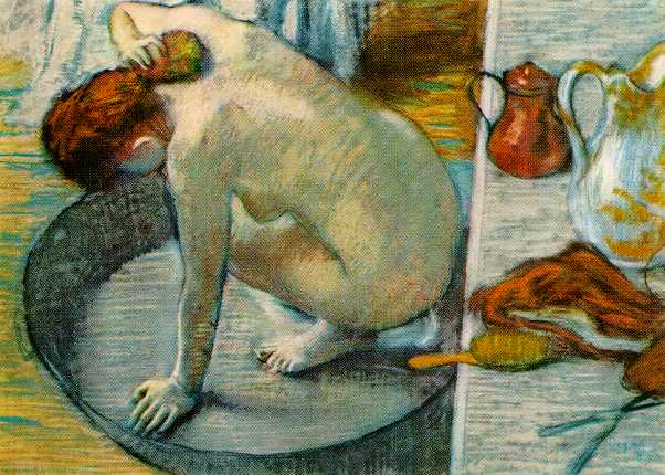 Le Tub - Edgar Degas