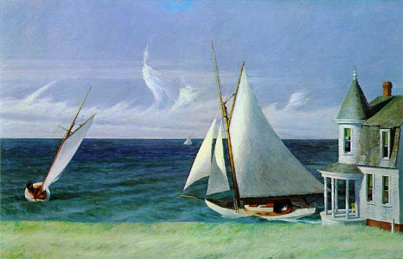 Lee Shore - Edward Hopper