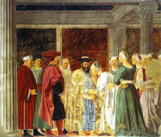 Legend of the True Cross - Piero della Francesca