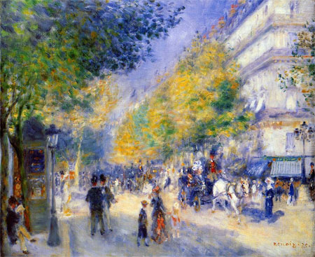Auguste pierre renoir gallery oil painting reproductions for Auguste renoir paris