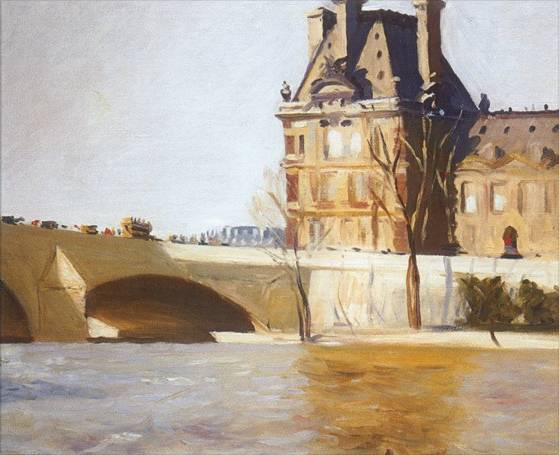 Les Pont Royal - Edward Hopper