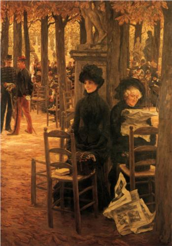 James Tissot - Letter 'L' with Hats