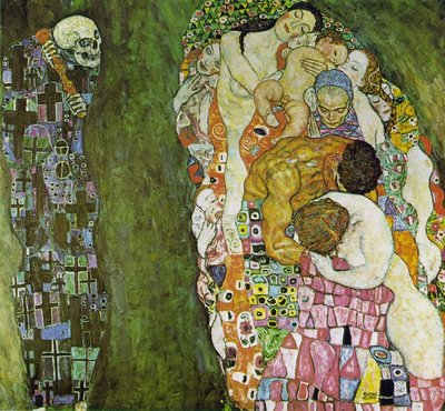 Life and Death - Gustav Klimt