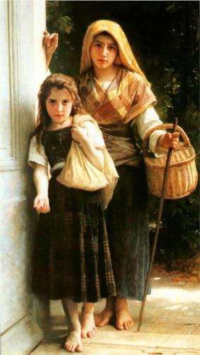 Little Beggar - William Adolphe Bouguereau