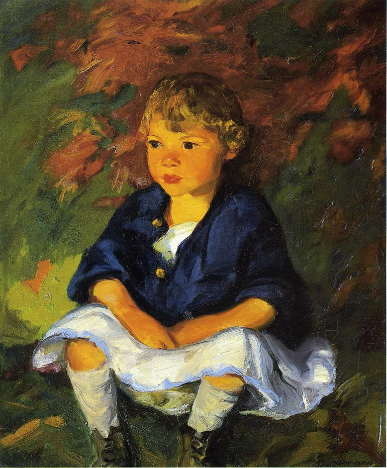 Little Country Girl - Robert Henri