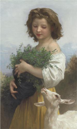 Little Esmeralda - William Adolphe Bouguereau