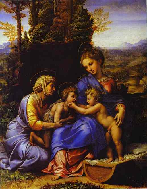 Little Holy Family - Raffaello Raphael Sanzio