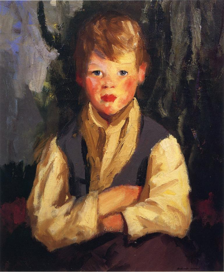 Little Irishman - Robert Henri