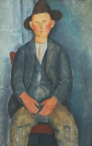 Little Peasant - Amedeo Modigliani