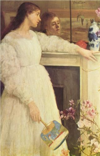 The Little White Girl - James McNeill Whistler