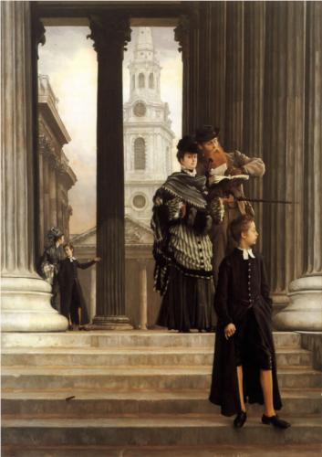 London Visitors - James Tissot