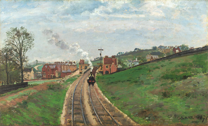 Lordship Lane Station - Camille Pissarro