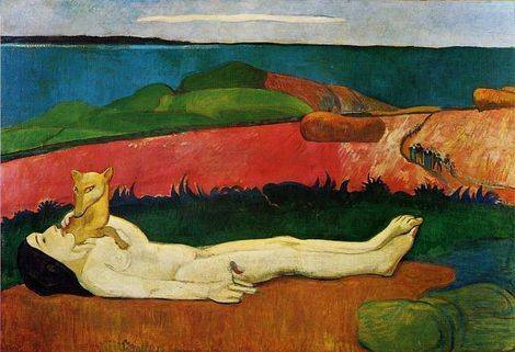 The Loss of Virginity - Paul Gauguin