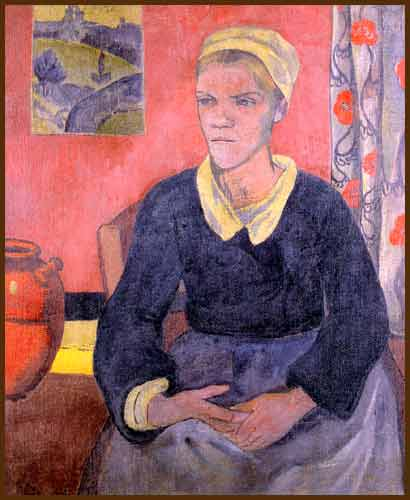 Louise the Breton Servant - Paul Serusier