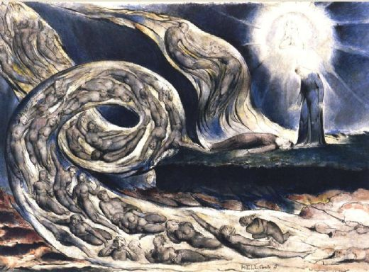 Lovers' Whirlwind - William Blake