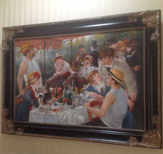 Luncheon At The Boating Party - Pierre Renoir