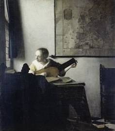 Lute Player - Jan Vermeer van Delft
