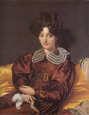 Madame Marie Marcotte - Jean Auguste Dominique Ingres