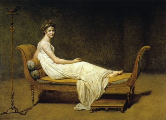 Madame Recamier - Jacques Louis David
