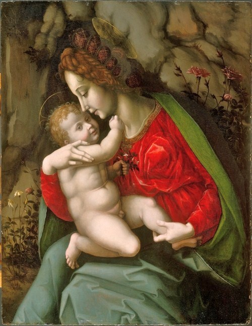 Madonna and Child - Bacchiacca
