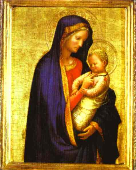 Madonna and Child - Masaccio