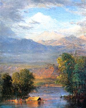 Magdalena River - Frederic Edwin Church