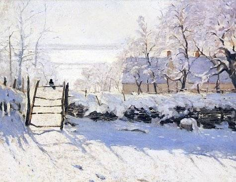 The Magpie - Claude Monet
