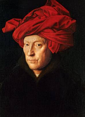 Jan van Eyck: The Man with the Red Turban ile ilgili görsel sonucu