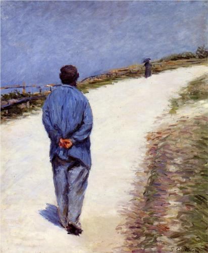 Man in a Smock - Gustave Caillebotte