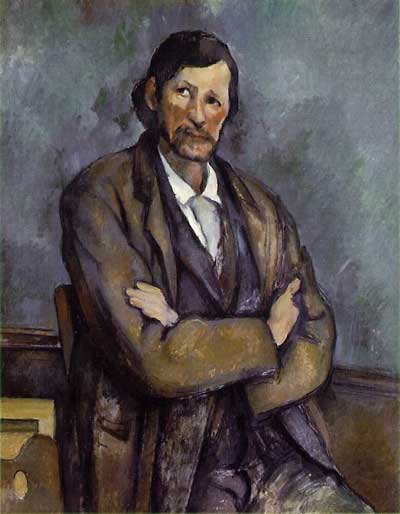 Man with Crossed Arms - Paul Cezanne
