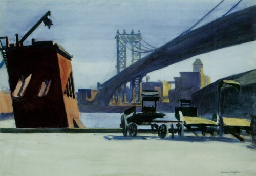 Manhattan Bridge - Edward Hopper